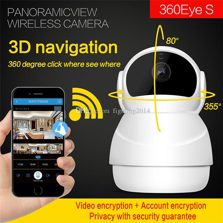 1080P 2MP Wifi IP Camera HD IR di visione notturna di sicurezza domestica videosorveglianza Macchina fotografica dell'interno mini audio baby monitor CCTV Videocamera per animali domestici
