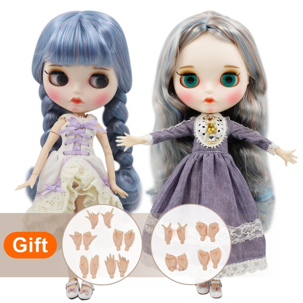 ICY blyth muñeca desnuda fábrica normal del cuerpo y la articulación con la mano determinada de la manera AB BJD chica muñeca de la muñeca especial
