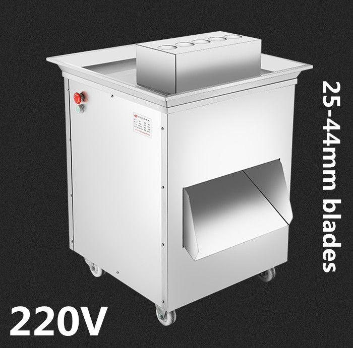 220 v 1500 watt extra große vertikale QD fleisch schneidemaschine fleisch slicer cutter 1500 kg / hr fleischverarbeitungsmaschine