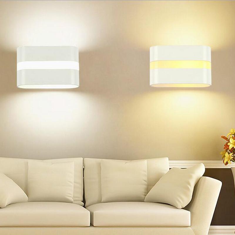 10 pcs 10 W Luminaria LED Superfície Indoor Montado Cubo Lamparas De Pared Branco Up And Down Luz Da Parede Para Casa Lâmpada AC 220 V 110 V
