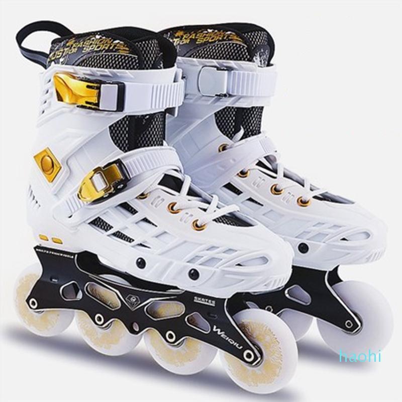 de gros-patins à roulettes pour adultes hommes et femmes adultes rouleau de plat simple rangée