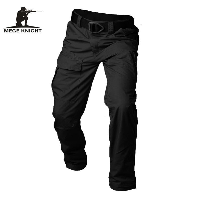 Mege Brand Tactical Men's Ripstop Pants Military Casual Cargo SWAT Combat Clothing Four Seasons Trousers With Multi Pockets CX200616