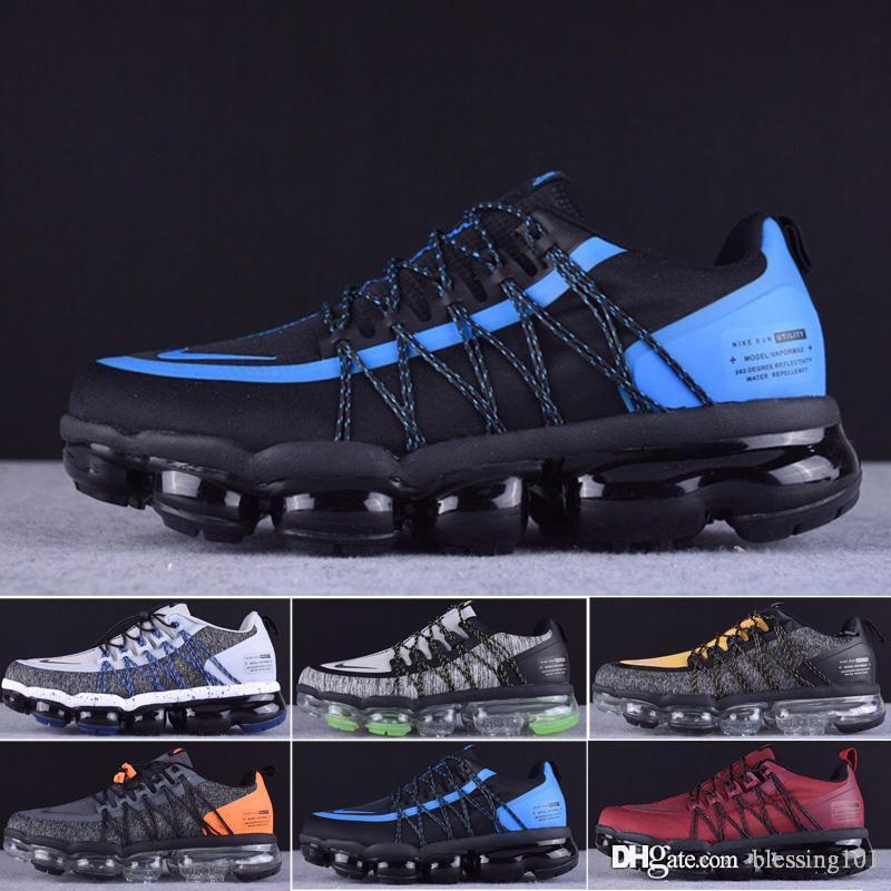 2019 mens Run Utility Black Anthracite running shoes for men triple Burgundy Crush designer trainers sports sneakers Medium Olive T6623
