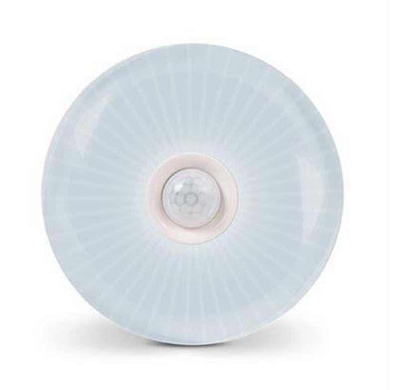 الإنسان الاستشعار أضواء الصحون الطائرة أضواء LED توفير الطاقة ضوء لمبات Geagood 12W برغي الذكية مصدر الإضاءة للممر مدخل