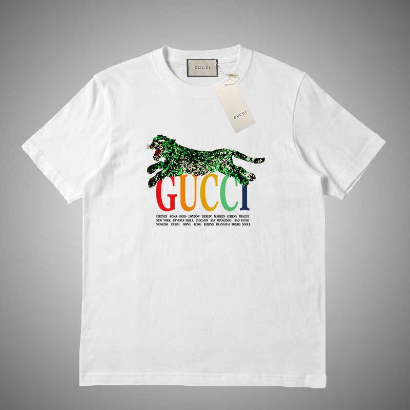 Luxus-Sommer-T-Shirt Mann-Mode-Buchstabe gedrucktes Kurzarm-T-Stücke lässige Kurzarm Tops Designer T Shirts S-2XL # 45615