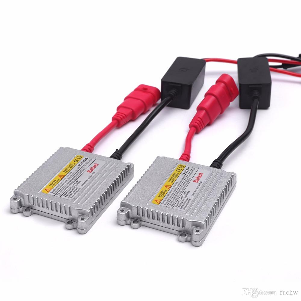 100PCS AC 35W 12V HID Slim Ballast for HID Xenon Headlight bulb H7 H11 4300k 6k for car honda&Toyota with stock fast shipping free shipping