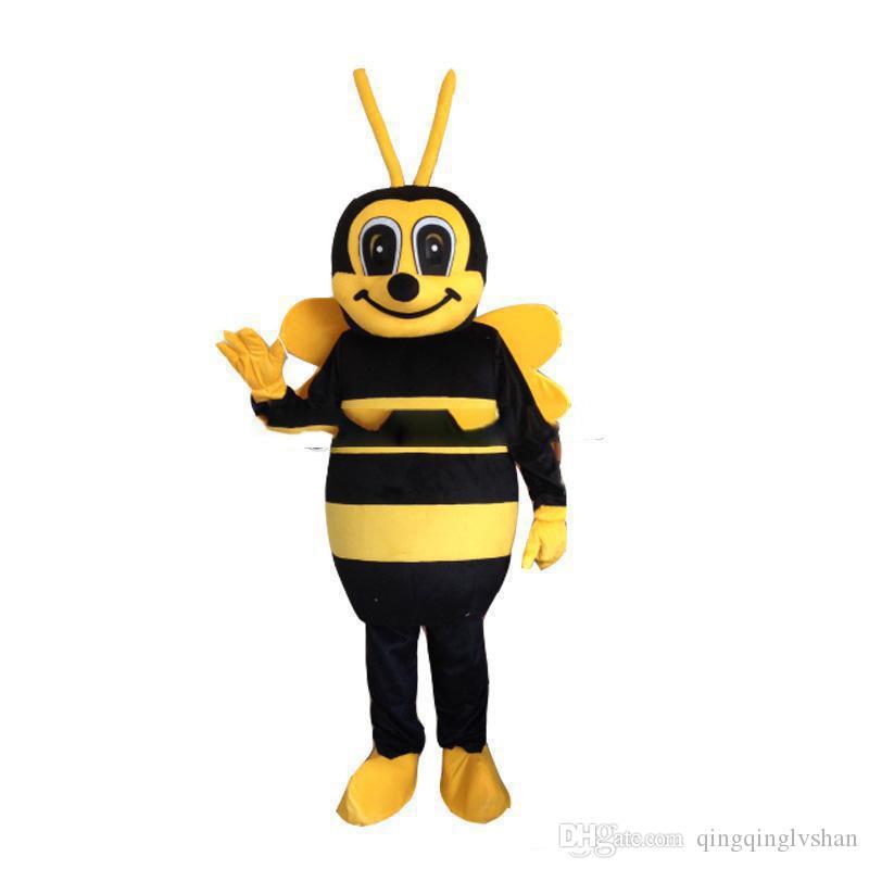 2018 hot sale Hornet Bee Mascot Costume Wasp Mascot Costume Bee Mascot Costume Free Shipping