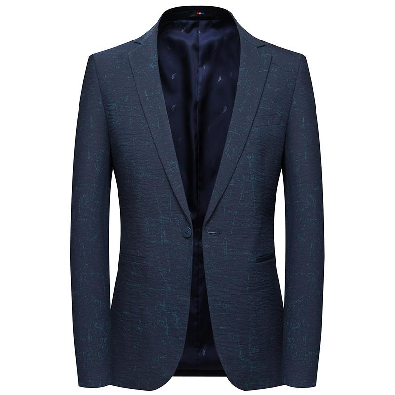 Casual Suit GustOmerD Nizza marea gli uomini della Suit Slim cotone a maniche lunghe casuale solido multi-tasca uomini Color