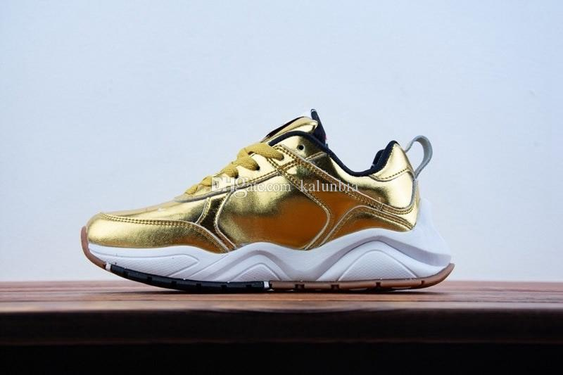 New 2019 CASBIA X Champion AWOL Atlanta Gold Silver Athletic Sneakers Men Women Outdoor Running Shoes Best Running Shoes Kids Boys Athletic Shoes