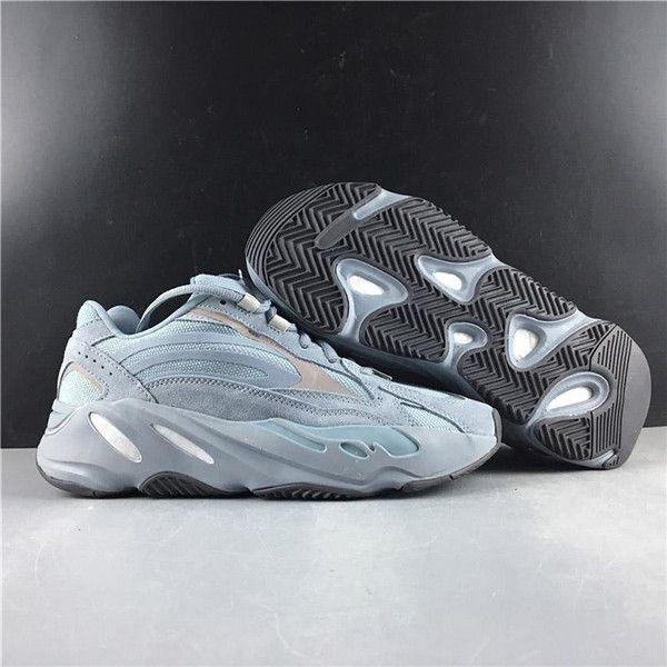Commercio all'ingrosso Ospedale Blu 700 V2 Designer Shoes corridore dell'onda Teal Blu Vanta inerzia Kanye West Scarpe Uomo Donna Sport Scarpe da corsa