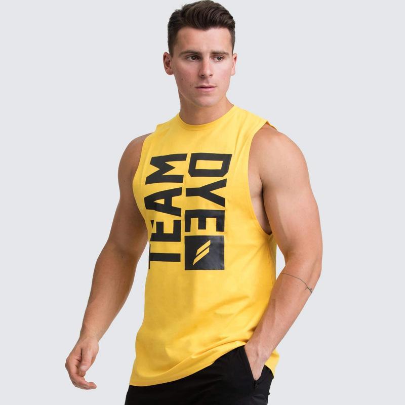 2020 nuovo di estate Abbigliamento sportivo T-Shirt Marca esecuzione maglietta Uomini Gym Fitness uomo T-shirt Uomo solido Colore asciutto rapido T-shirt