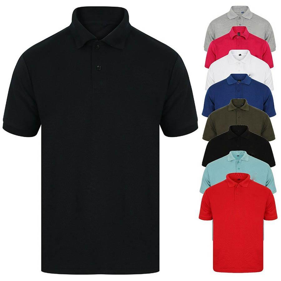 Embroidery Golf Plain Horse Emblem Luxury Design Designer Male Summer Turn-Down Collar Short Sleeves Polo Shirt Men Top Plus Size A2010