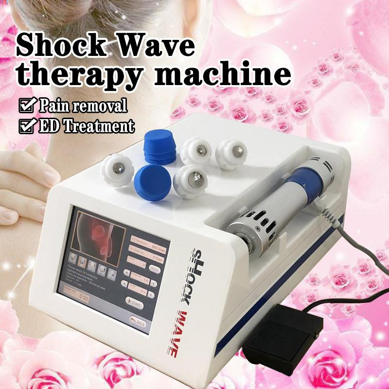 Portable Extracorporeal Shock Wave Therapy Shockwave Therapy Equipment Pain Relief Erectile Dysfunction ED Treatment Cellulite Reduction