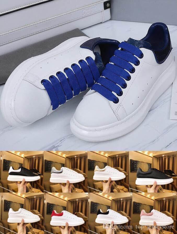 Com sapatos de grife caixa para homens mulheres moda tênis de plataforma de sapatos casuais 3m reflexivas triplos pretos brancos mens camurça plana 36-44