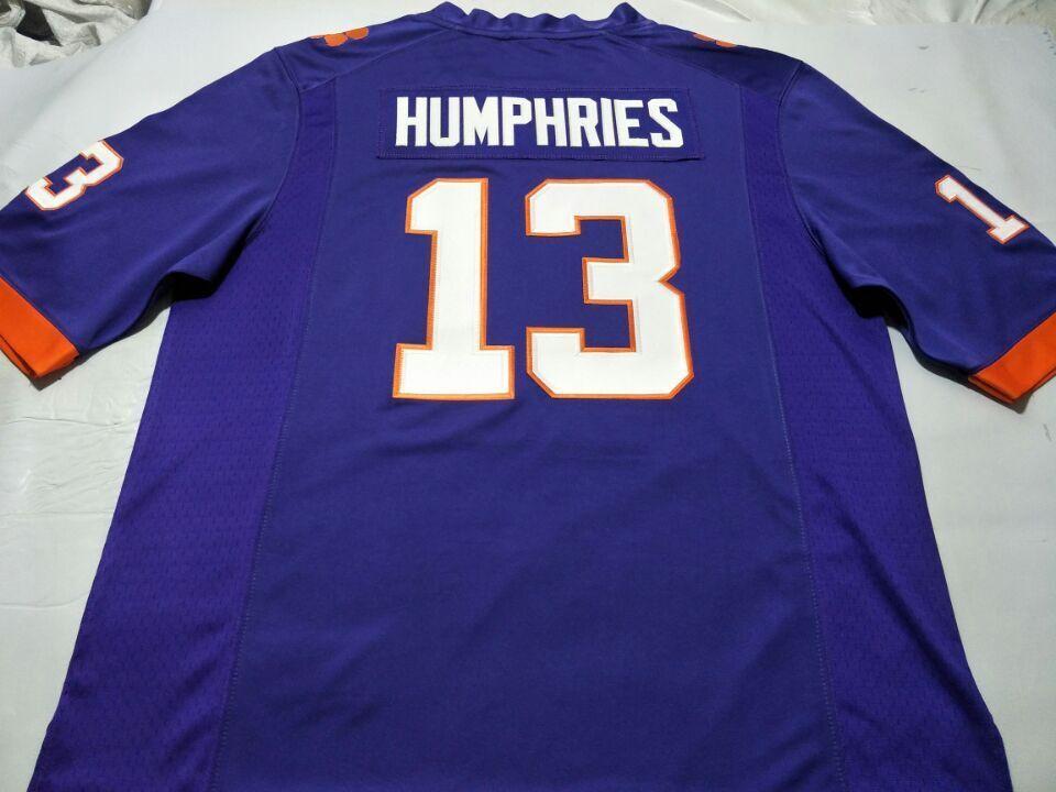 Personalizzato Uomini Giovani Donne Clemson Tigers # 13 Adam Humphries calcio Jersey taglia S-4XL o personalizzato qualsiasi nome o numero jersey