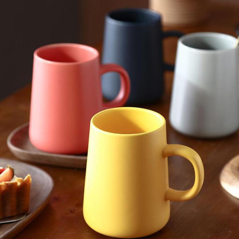 도자기 커피 잔 대용량 차 커피 머그컵 맞춤 머그컵 여성 선물 우유 컵