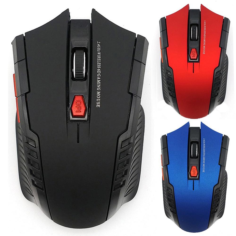 2000dpi 2,4 ГГц беспроводная оптическая мышь Gamer для PC Gaming Ноутбуки Новая игра Беспроводные мыши с USB-приемник Drop Доставка Mause