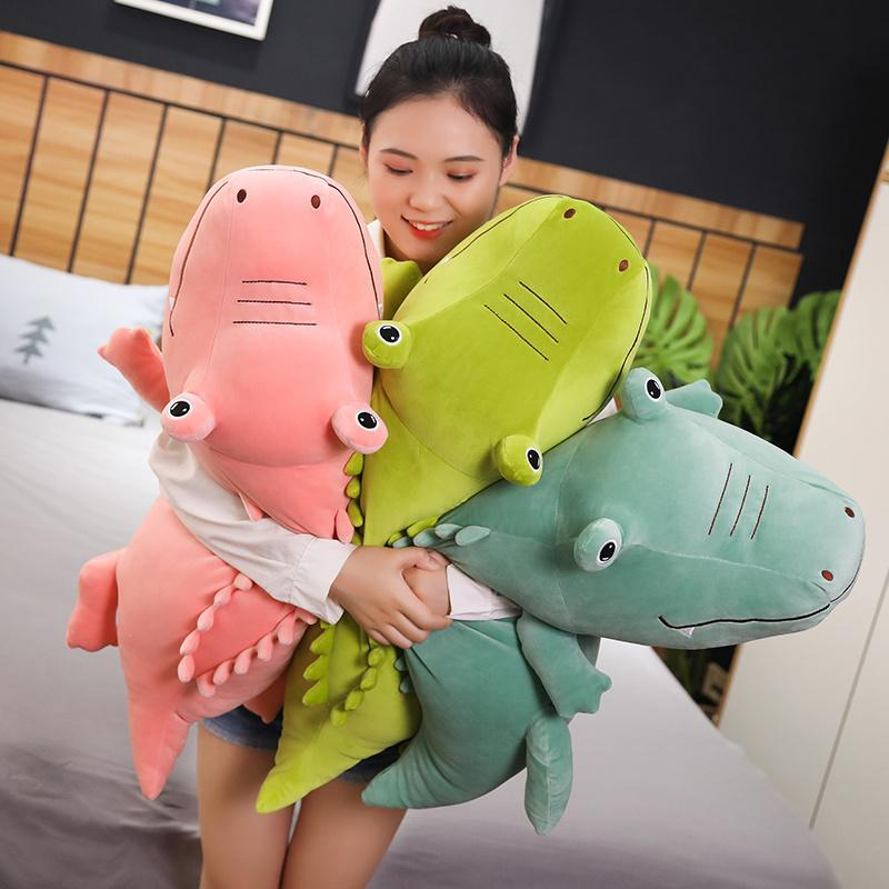 Stuffed Crocodile Plush Toy Realistic Jumbo Alligator Christmas Birthday Thanksgiving Day Gifts for Toddler Kids Father