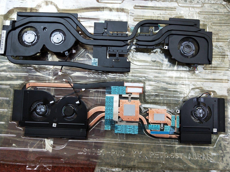 NUOVO dispositivo di raffreddamento per MSI GS73 GS73VR dissipatore di calore CPU con ventola E322500280