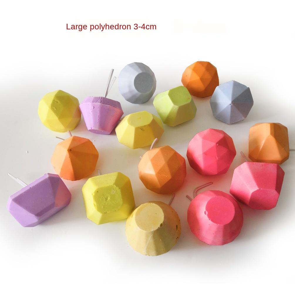 Important Position Product Will Polyhedron A Molar Tooth Dragon Cat Squirrel Calcium Milk Parrot Grinding Mouth Stone Shape Color Random