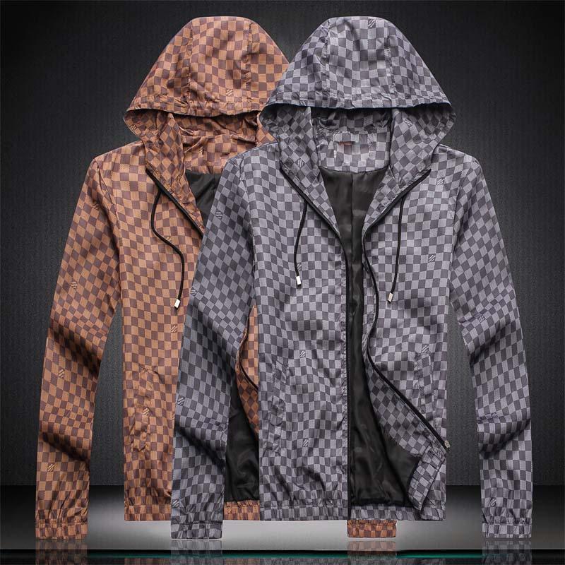 2019 nouvelle veste pour hommes Mode Hommes Medusa Manteau Vestes avec col blanc Marque Resp hommes Veste hommes de manteau de manteau décontracté