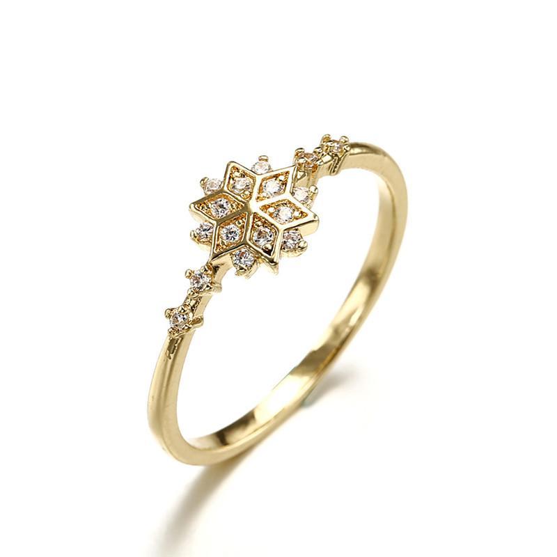 2019 Anelli di cristallo di pietra trasparente di lusso per le donne oro colore oro anelli di fidanzamento gioielli dropship bagues versare