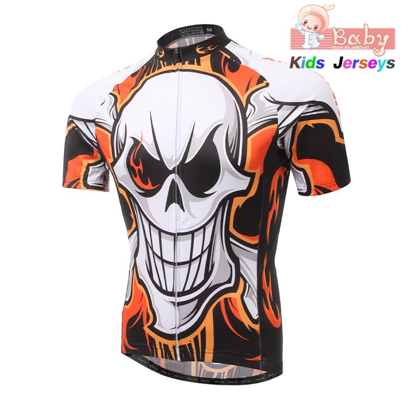 Kids 2020 Short Sleeve Cycling Jerseys MTB Boys Mountain Bike Clothing Motocross Jersey Downhil Mountain Bike DH Shirts Summer