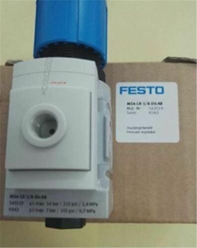 1Pc New Festo Régulateur Valve MS4-LR-1/8-D6-A8 lf