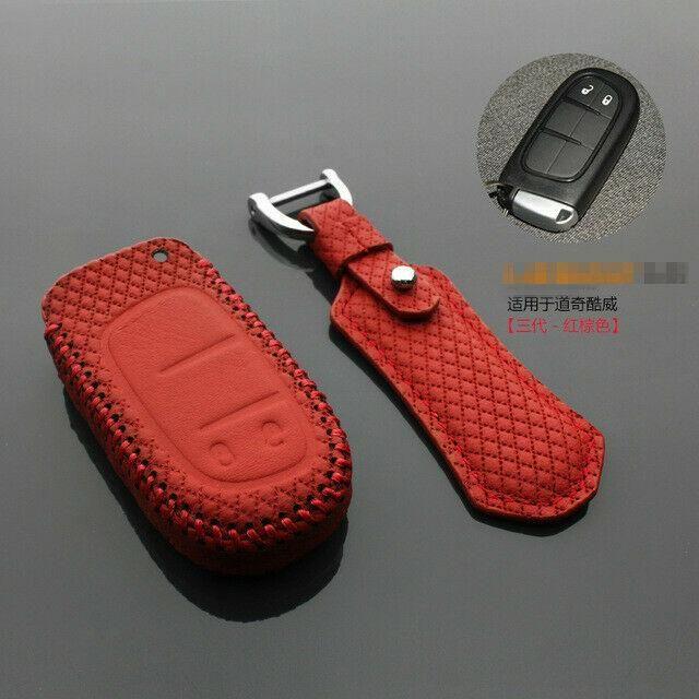 Per Dodge JCUV chiave Smart Remote Keyless Entry catena Fob caso chiave di copertura