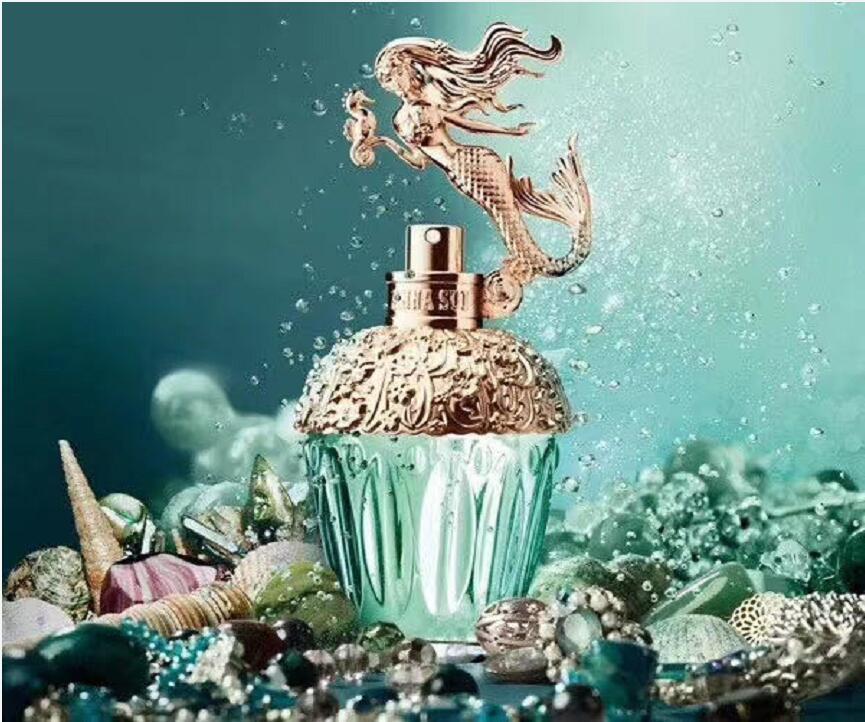 Neue Echte Damen Parfüm Frische natürliche dauerhafte Duftspray 80 ml Mermaid Einhorn