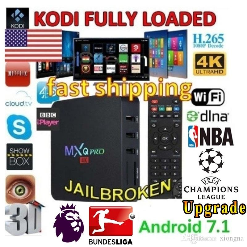 2019 New Upgrade Hot RK3229 S905W MXQ Pro MINI Smart TV BOX 4K Android7.1 Quad Core 1G+8G Media Player