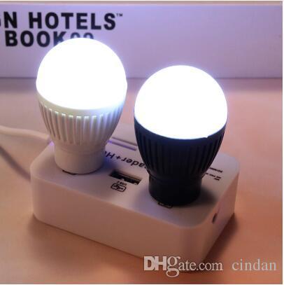 휴대용 독서 에너지 절약 노트북 USB 모바일 전원 비상 조명에 대 한 USB 작은 전구 usb led 램프 (임의의 색상)