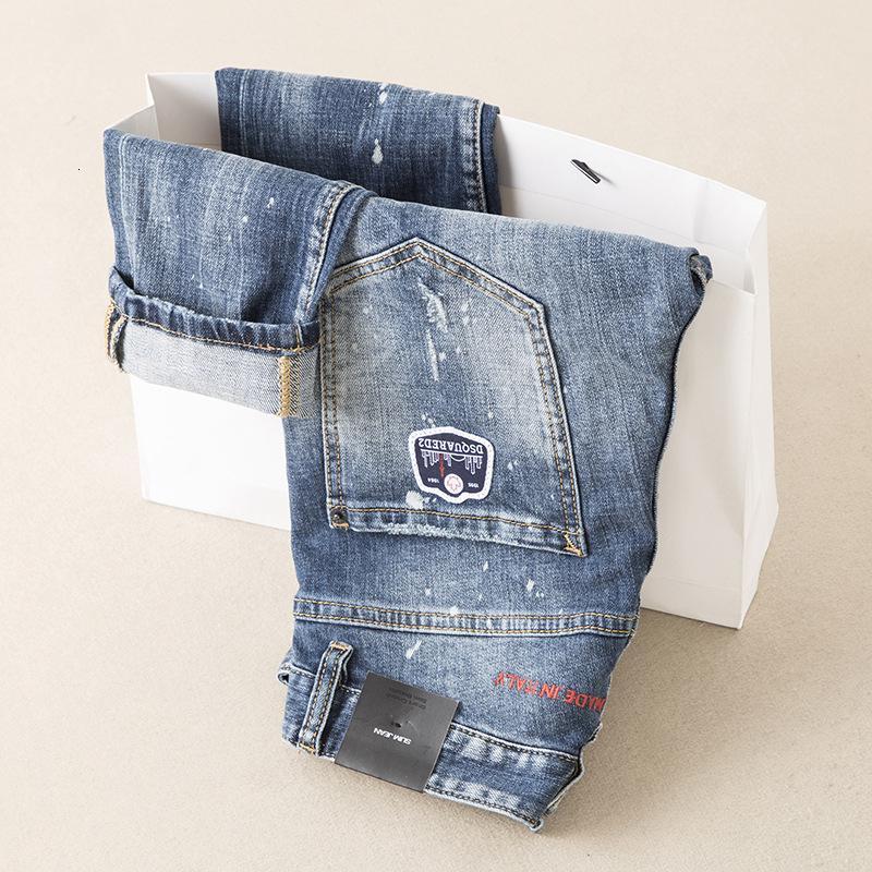 Homens desgaste dos homens Wear desgaste dos homens de Moda de Nova E Original Designe Jeans Exquisite Calças retas Personalidade Estilo