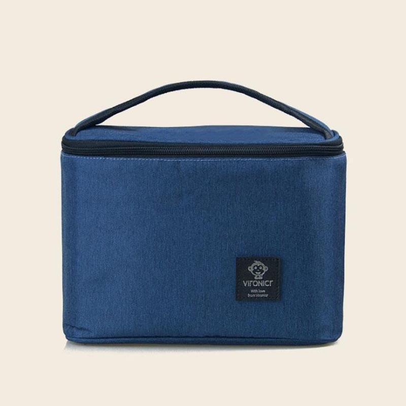Múmia de isolamento saco de carrinho Food transportar o bebê saco de leite mochila Preservação multifunções BYA010 Simples