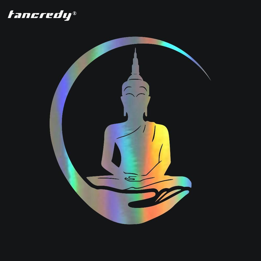 Großhandel Tancredy Thai Buddha Statue 3d Auto Aufkleber Und Abziehbilder Motorrad Aufkleber Autokörperfenster Aufkleber Styling Lustig Von Niumou
