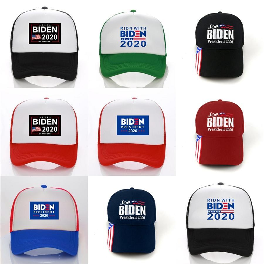 Donald Biden 2020 Sıcak Satış Yeni Geliş% 100 Pamuk Mesh karışmış Beyzbol # 869 Unisex Tasarımcılar Şapka Cap Fation Yüksek Kalite Caps