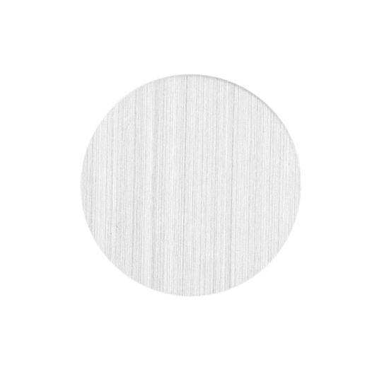 -Blanc en acier inoxydable flottant plaques locket