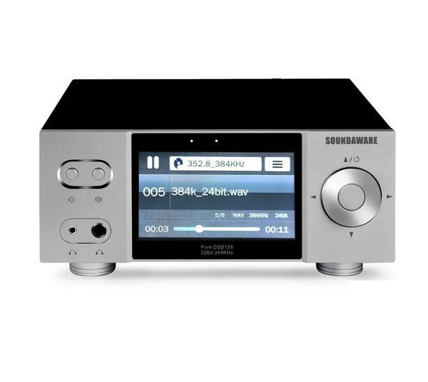 Soundaware A1 Transmisión de escritorio remoto Reproductor de red con control digital de la placa giratoria de decodificación Amplificador Roon INICIALES