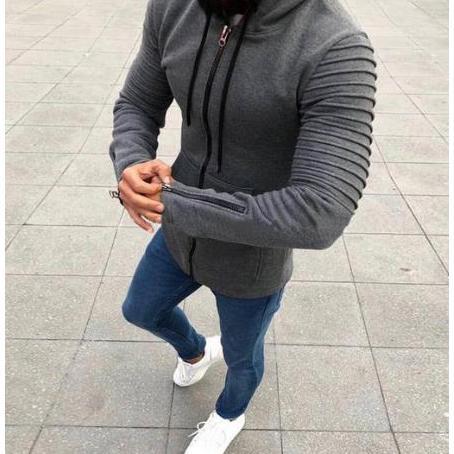 Uomo Felpe Designer Solid Top di colore per i vestiti dei ragazzi della chiusura lampo con cappuccio Stile New British 2020 ragazzi Casual Wear 4 stili per all'ingrosso