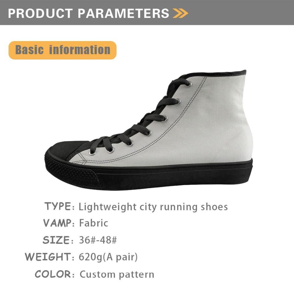 Personalizado Homens Canvas Sneakers 3D bonito cão Pug impressão de alta Top calçados casuais Vulcanize sapatas do homem Lace Up Sapatos Boy Zapatos