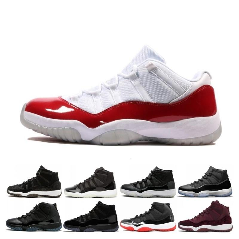 Cheap 11 11s concord cap and Gown Men Women Basketball Shoes 72-10 GAMMA BLUE Platinum Tint Sports shoe Sneaker 5.5-13