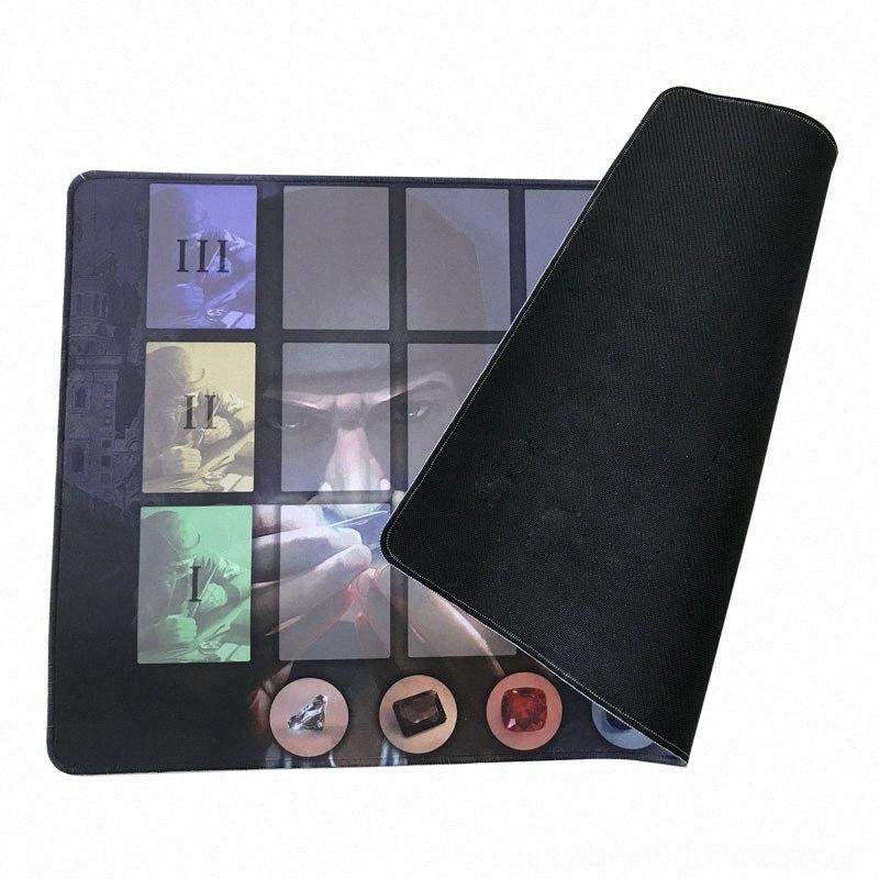 Высокое качество Другие гольф продукты гольф Резина Playmat для Splendor Настольная игра 60x35 см Настройка Splendor игры Playmat LEWN #