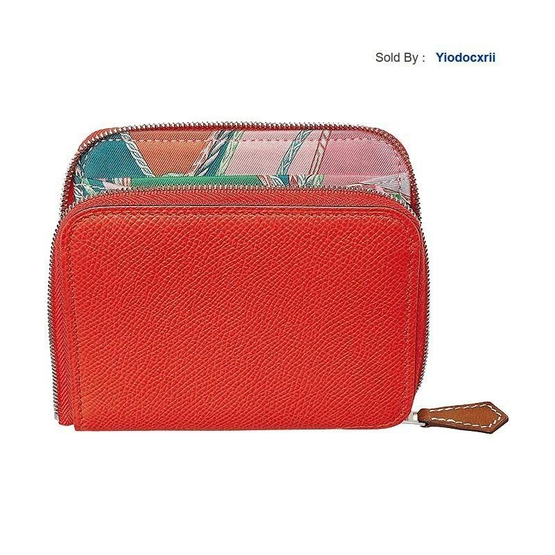 yiodocxrii 6P8T Silk'in Personality Short Wallet Orange Red/light Yellow Brown/pink/jaipur H075189ckaa-ba11 Totes Handbags Shoulder Bags