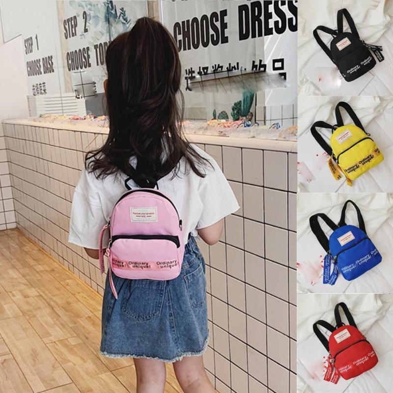 Sac à dos enfants couleur bonbon petit sac à dos multifonctions enfants de qualité Hight Dropship Y1.3