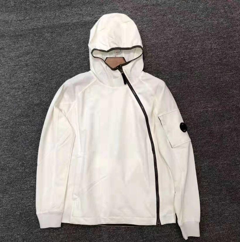 Nuovo arrivo CP società Mens giacche di marca Windbreaker del progettista Donne Hoodies Mens Coats lusso informale Sideway Zip usura esterna NuovoPiù cliccato B103412L