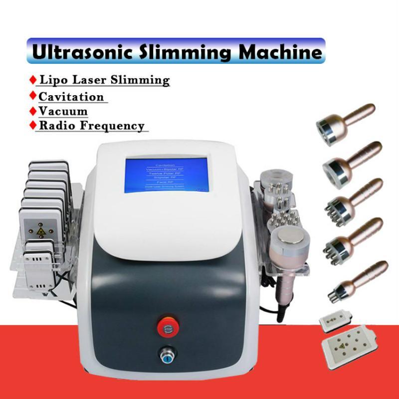 40K Fat Burning Cavitation RF machine Laser Lipo Vaccum lifting du visage de l'équipement 6 en 1