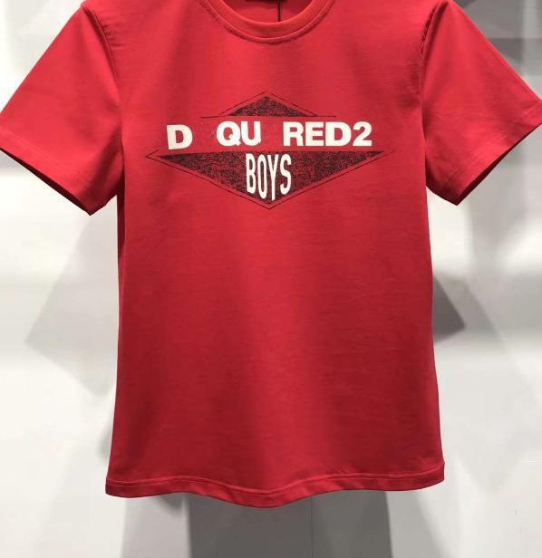 2018 mode d'été T-shirt uni T-shirts pour motif T-shirt décontracté à manches courtes hommes Vêtements T284