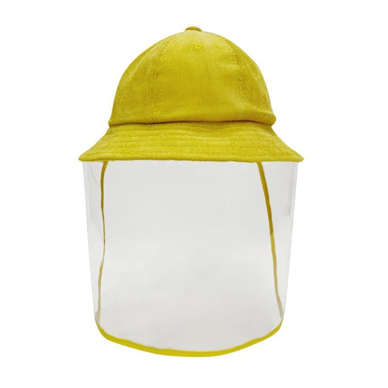 JAYCOSIN Women Protective Acrylic hat Adult Anti-spitting Protective Hat Dustproof Cover Acrylic Peaked Cap Safety One Size