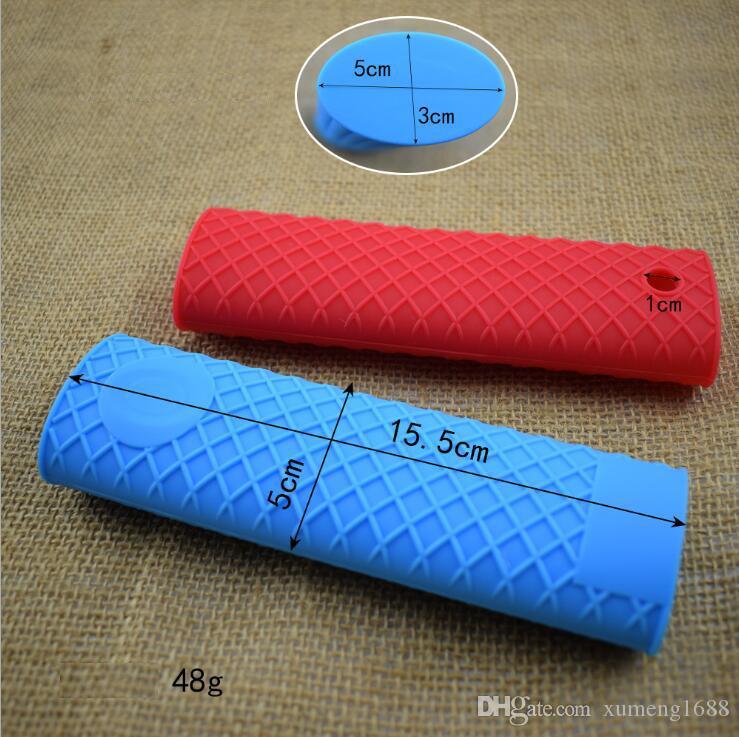 Silicone Hot Handle Holder Potholder Sleeve Grip - Rubber Pot Handle Sleeve Heat Resistant for Cast Iron Skillets Pans Griddles