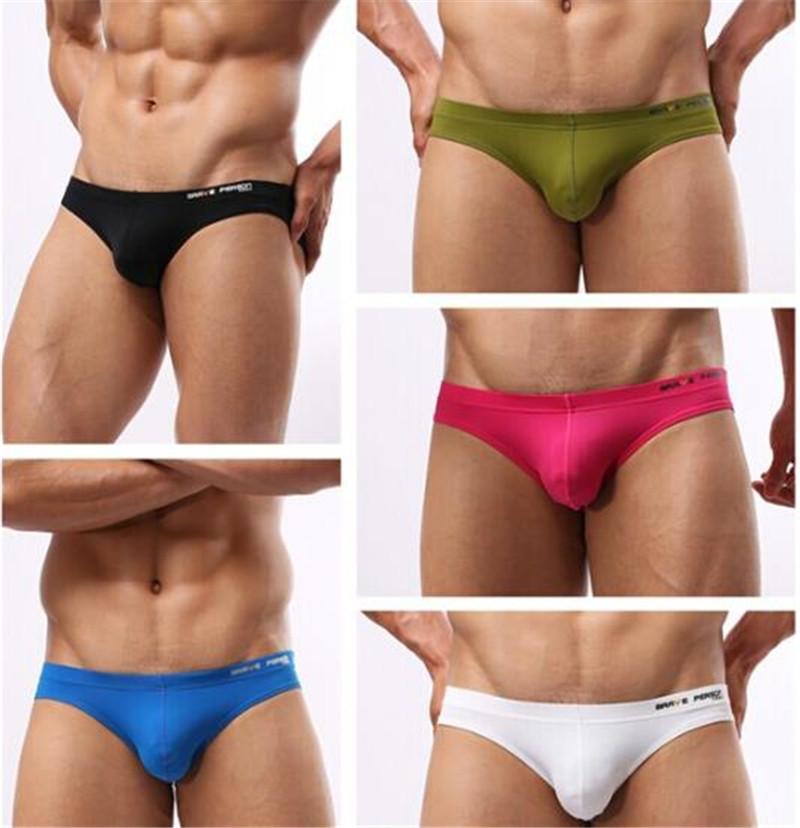 Marka Erkek Tasarımcı İç fahsion Katı Renk Harf Baskılı Bikini Külot Erkek Seksi Rahat Nefes Külotlar